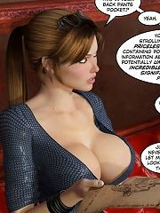 Crazy XXX 3D World 3D Fuck Comics
