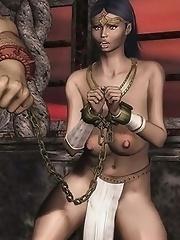 cruel sex Master and slave