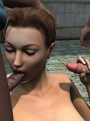 Lustful Doxy swallows Driver before gets slammed