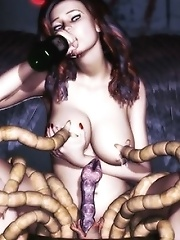 Fallen Angel girls fucking
